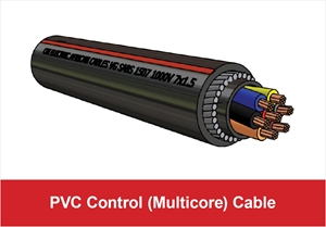 Picture for category PVC Multicore Control Cable