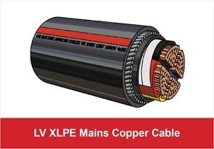 Picture for category LV XLPE Mains Copper Cable