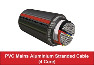 Picture for category PVC Mains Aluminium Stranded