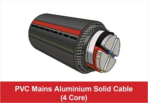Picture for category PVC Mains Aluminium Solid