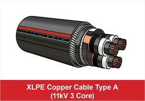Picture for category 11kV Three Core Type A