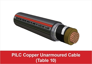 Picture for category PILC Copper Unarmoured (Table 10)