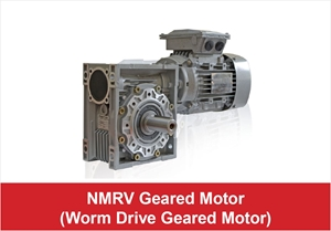 Picture for category NMRV Geared Motor Worm Drive