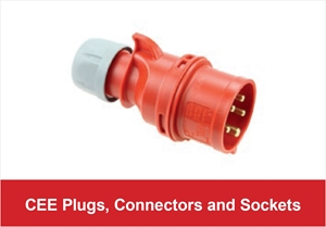 Picture for category CEE Plugs, Connectors and Sockets