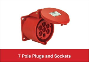 Picture for category 7-Pole Plugs and Sockets
