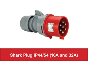 Picture for category 7 Pole Shark Plug IP44/54