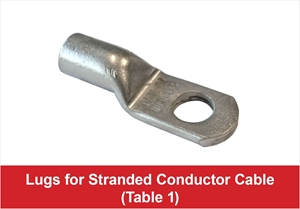 Picture for category Lug For Stranded Conductor Cable