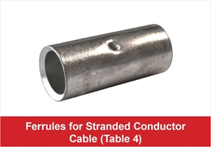 Picture for category Ferrules for Stranded Conductor Cable