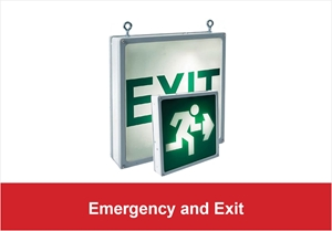 Picture for category Emergency and Exit