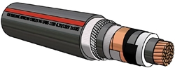 Picture of XLPE Copper Cable Type A (630mm²)