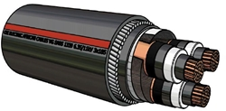 Picture of XLPE Copper Cable Type A (240mm²)