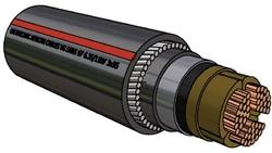 Picture of PILC Copper SWA Cable (25mm²)