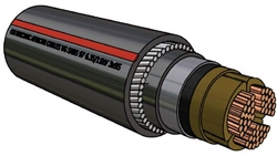 Picture of PILC Copper SWA Cable (95mm²)