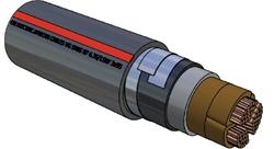 Picture of PILC Copper DSTA Cable (185mm²)
