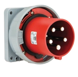 Picture of Power Twist Flanged Plug Straight IP66/67 (125A)