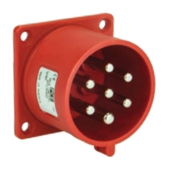 Picture of Flanged Plug Straight IP44/54 (32A)