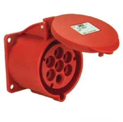 Picture of Flanged Plug Straight IP44/54 (16A)