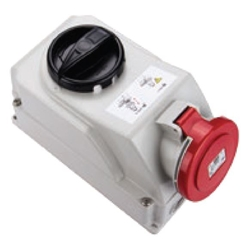 Picture of Mechanical Interlock Socket IP44 (32A)